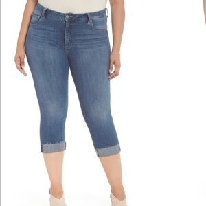 Lucky Brand Plus Emma Crop Skinny Jeans